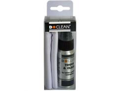 D-CLEAN - Čisticí roztok D-Clean Touch&Clean s utěrkou