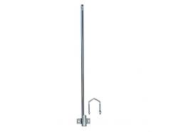 Nástavec na stožár výška 1,2m TP 28mm žár