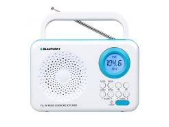 Rádio BLAUPUNKT PP12WH, FM PLL/SD/USB/AUX, přenosné, bílé